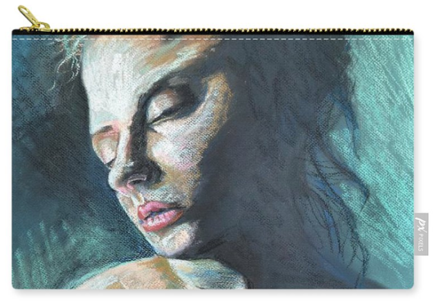 Portrait of a Woman zip pouch